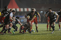 during the Premiership Rugby match between Saracens and Leicester Tigers - 02/01/2016 - Allianz Park, London<br /> Mandatory Credit: Rob Munro/Stewart Communications