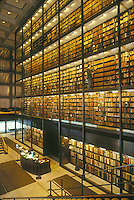 Beinecke library, Yale campus, New Haven, CT (architect = Skidmore, Owings, Merrill SOM) rare books