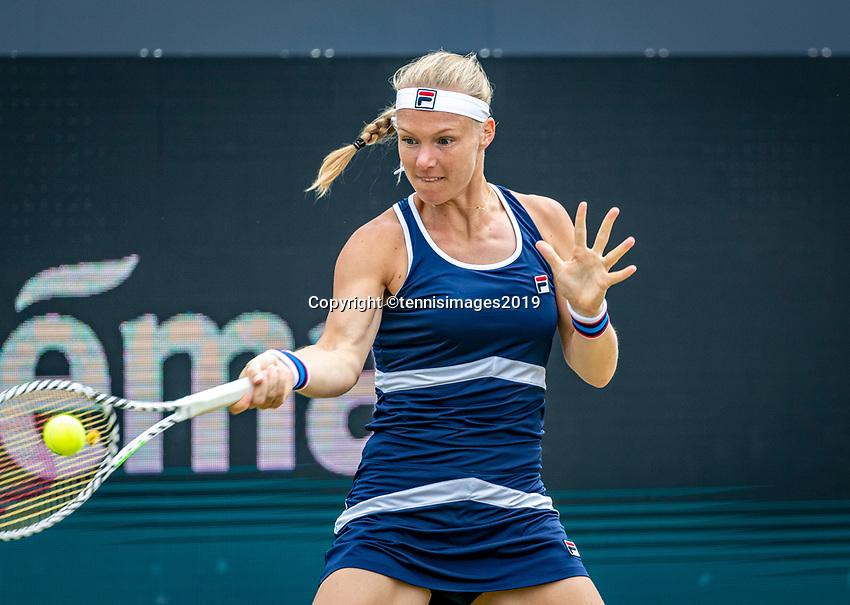 Rosmalen, Netherlands, 15 June, 2019, Tennis, Libema Open, Kiki Bertens (NED)<br /> Photo: Henk Koster/tennisimages.com