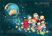 Interlitho, Simonetta, CHRISTMAS CHILDREN, naive, paintings, KL5873/1,#XK# Weihnachten, Navidad, illustrations, pinturas