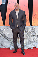 """Dwayne Johnson<br /> arriving for the """"Rampage"""" premiere at the Cineworld Empire Leicester Square, London<br /> <br /> ©Ash Knotek  D3395  11/04/2018"""