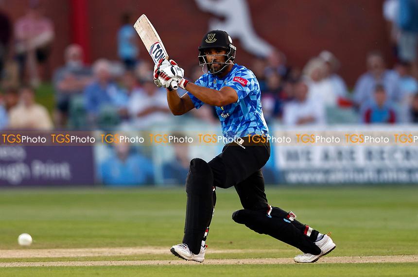 Ravi Bopara bats for Sussex during Kent Spitfires vs Sussex Sharks, Vitality Blast T20 Cricket at The Spitfire Ground on 18th July 2021