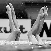 TREMBLE Charlotte - TREMBLE Laura France FRA<br /> Gwangju South Korea 18/07/2019<br /> Artistic Swimming Duet Free Final<br /> 18th FINA World Aquatics Championships<br /> Yeomju Gymnasium <br /> Photo © Giorgio Scala / Deepbluemedia / Insidefoto