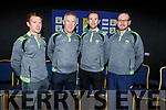 U14 Management Team: L to r: John Fitzgerald (Causeway), Liam O'Connor (St Brendans), Kieran Dineen (Manager- Abbeydorney) and Joe Murphy (Ballyduff).