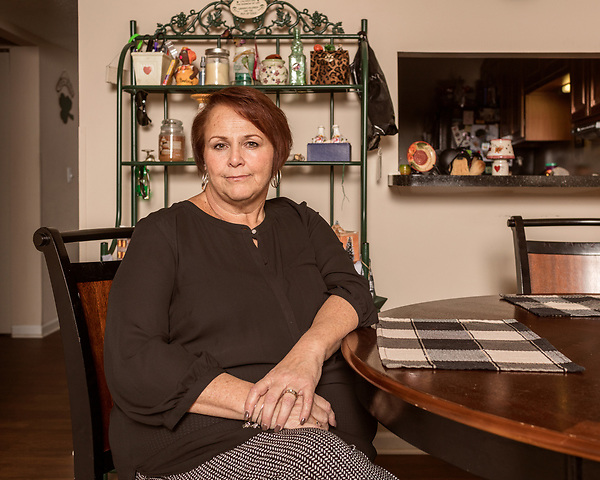 November 16, 2018. Durham, North Carolina.<br /> <br /> Ann Marie Reinhart Smith worked at Toys 'R' Us for 29 years before losing her job as the company's owners filed for bankruptcy.<br /> <br /> Smith is a plaintiff in a class action lawsuit seeking to claim the severance pay the employees were promised by the company.
