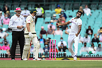 8th January 2021; Sydney Cricket Ground, Sydney, New South Wales, Australia; International Test Cricket, Third Test Day Two, Australia versus India; Ravichandran Ashwin of India bowling