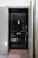 A front door to a 'set' in Albany, a complex of apartments in Piccadilly, London
