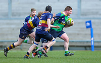 Saturday 13th April 2019 | Ballynahinch 4 vs Banbridge 3<br /> <br /> Stuart Orr during the Crawford Cup final between Ballynahinch and Banbridge at Kingspan Stadium, Ravenhill Park, Belfast, Northern Ireland.  Photo by John Dickson / DICKSONDIGITAL