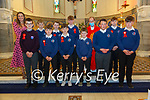 M/s Fitzmaurice's class of 2020 from  Scoil Mhuire de Lourdes, Lixnaw who were confirmed in St. Mary's Church by Fr. Anthony O'Sullivan on Wednesday  29th September.