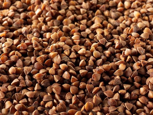Roasted Buckwheat Stock Photos