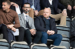 St Johnstone v Rangers…22.09.19   McDiarmid Park   SPFL<br />Ross County management team Stuart Kettlewell and Steve Ferguson watching the game<br />Picture by Graeme Hart.<br />Copyright Perthshire Picture Agency<br />Tel: 01738 623350  Mobile: 07990 594431