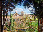 View of the village of Lourmarin from the grounds of the Château de Lourmarin. This photo will appear in the June 2018 issue of Viajes National Geographic (the Spanish edition of National Geographic Traveler).