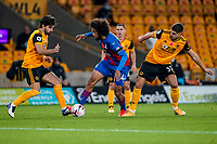30th October 2020; Molineux Stadium, Wolverhampton, West Midlands, England; English Premier League Football, Wolverhampton Wanderers versus Crystal Palace; Jaïro Riedewald of Crystal Palace tries to keep the ball in the Wolverhampton Wanderers box