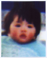 Liu Mengmeng (2), born in Nov 1985. Missing at Beijing Train Station on 21 Mar 1987.   Girls in China are increasingly targeted and stolen as there is a shortage of wives as the gender imbalance widens with 120 boys for every 100 girls..PHOTO BY SINOPIX