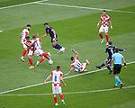 22.06.2021 Croatia v Scotland: Callum McGregor scores