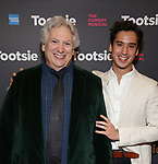 """Harvey Fierstein and Michael Rosen attends the Broadway Opening Night of """"Tootsie"""" at The Marquis Theatre on April 22, 2019  in New York City."""