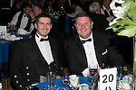 St Johnstone FC Scottish Cup Celebration Dinner at Perth Concert Hall...01.02.15<br /> Ewan Paeacock and George Browning<br /> Picture by Graeme Hart.<br /> Copyright Perthshire Picture Agency<br /> Tel: 01738 623350  Mobile: 07990 594431