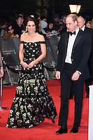 BAFTA Film Awards 2017 arrivals