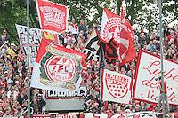 Fans aus Koeln - FSV Frankfurt vs. 1. FC Koeln, Frankfurter Volksbank Stadion