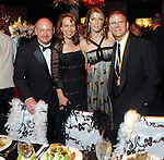 """Mark Kelly and Gabrielle Giffords with Paige and Tilman Fertitta at the San Luis Salute to """"The Italian Riviera"""" at the Galveston Island Convention Center at the San Luis Friday  Feb. 20, 2009.(Dave Rossman/For the Chronicle)"""