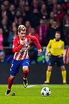 Antoine Griezmann of Atletico de Madrid runs with the ball during the UEFA Champions League 2017-18 match at Wanda Metropolitano on 22 November 2017 in Madrid, Spain. Photo by Diego Gonzalez / Power Sport Images