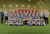 Pictured: The Cardiff and Vale College rugby team, in Cardiff, Wales, UK. Tuesday 22 January 2019