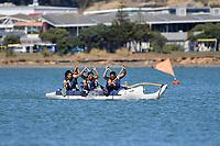 Waka Ama – CSW Champs at Porirua Harbour, Porirua, New Zealand on Saturday 14 March 2020. <br /> Photo by Masanori Udagawa. <br /> www.photowellington.photoshelter.com