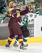 - The University of Minnesota Golden Gophers defeated the University of North Dakota Fighting Sioux 4-3 on Friday, December 9, 2005, at Ralph Engelstad Arena in Grand Forks, North Dakota.