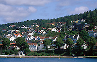 Norwegen, Drøbak bei Oslo