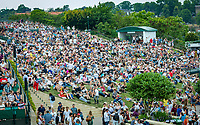 London, England, 4 th. July, 2018, Tennis,  Wimbledon, The Henman Hill<br /> Photo: Henk Koster/tennisimages.com