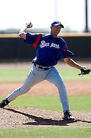 Mark Hamburger  -Texas Rangers - 2009 spring training.Photo by:  Bill Mitchell/Four Seam Images