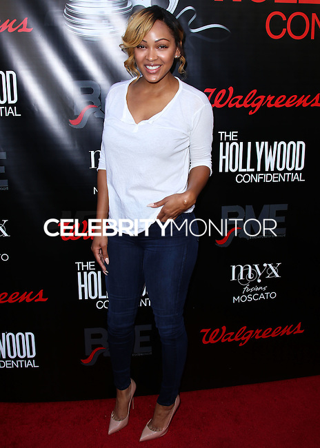 HOLLYWOOD, LOS ANGELES, CA, USA - SEPTEMBER 02: Actress Meagan Good arrives at The Hollywood Confidential Open Forum 'Staying Power: Building Legacy & Longevity in Hollywood' Event held at the Montalban Theatre on September 2, 2014 in Hollywood, Los Angeles, California, United States. (Photo by Xavier Collin/Celebrity Monitor)