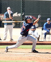 Nick Bartolone - Cleveland Indians - 2010 Instructional League.Photo by:  Bill Mitchell/Four Seam Images..