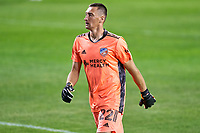 CHICAGO, UNITED STATES - AUGUST 25: Przemyslaw Tyton #22 of FC Cincinnati looks on during a game between FC Cincinnati and Chicago Fire at Soldier Field on August 25, 2020 in Chicago, Illinois.