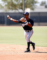 Allixon Cequea / Milwaukee Brewers 2008 Instructional League..Photo by:  Bill Mitchell/Four Seam Images