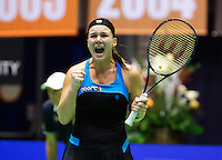 22-12-13,Netherlands, Rotterdam,  Topsportcentrum, Tennis Masters, Kiki Bertens(NED) wins the Masters<br /> Photo: Henk Koster