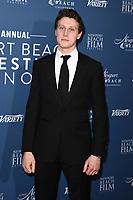 George Mackay<br /> arriving for the Newport Beach Film Festival UK Honours 2020, London.<br /> <br /> ©Ash Knotek  D3551 29/01/2020