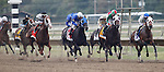 September 21, 2013.  Start of the Pennsylvania Derby:  #3, Moreno, is at far right. #7, Will Take Charge, trained by D. Wayne Lukas and ridden by Luis Saez, wins the Pennsylvania Derby at  Parx Racing, Bensalem, PA.  ©Joan Fairman Kanes/Eclipse Sportswire