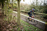 U23 World Champion Tom Pidcock (GBR) during course recon<br /> <br /> Elite & U23 Mens Race<br /> 42nd Superprestige cyclocross Gavere 2019<br /> <br /> ©kramon