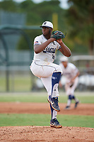 Trenton Shaw (16) during the WWBA World Championship at the Roger Dean Complex on October 11, 2019 in Jupiter, Florida.  Trenton Shaw attends Desoto High School in Desoto, TX and is Uncommitted.  (Mike Janes/Four Seam Images)