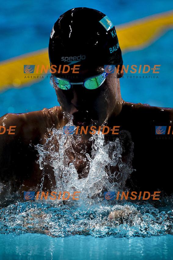 BALANDIN Dmitriy KAZ 100 Breastroke men<br /> Swimming Nuoto Kazan Arena<br /> Day10 02/08/2015 Evening Finals<br /> XVI FINA World Championships Aquatics Swimming<br /> Kazan Tatarstan RUS July 24 - Aug. 9 2015 <br /> Photo G.Scala/Deepbluemedia/Insidefoto