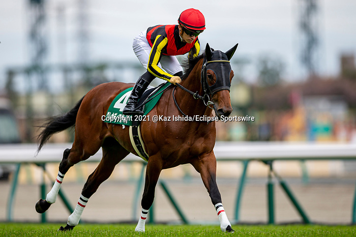 TOYOAKE,JAPAN-MAR 20: Grenadier Guards,ridden by Yuga Kawada,the G1 (Asahi Hai Futurity Stakes winner) winner,is post parading before the Falcon Stakes at Chukyo Racecourse on March 20,2021 in Toyoake,Aichi,Japan. Kaz Ishida/Eclipse Sportswire/CSM