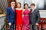 Sean O'Riordan, Caoimhe Moore, Erin Moss and Mike Kerins attending the Mercy Mounthawk Debs in the Ballyroe Heights Hotel on Friday.