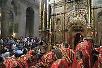 Pentecost, Greek Orthodox at the Church of the Holy Sepulchre