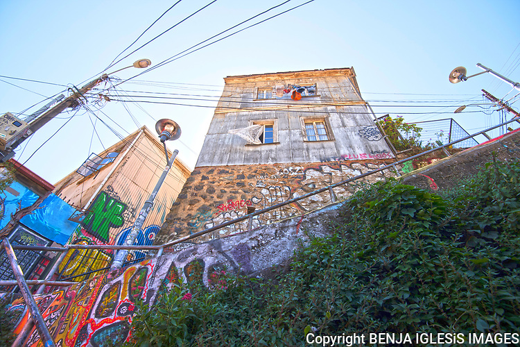 The city of Valparaiso is known for the amazing street art, bohemian people,great art and street galleries a place with amazing story.
