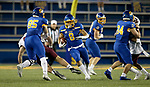 BROOKINGS, SD - MAY 2: Jordan Meachum #8 of the South Dakota State Jackrabbits breaks loose for a big gain on a kickoff return against the Southern Illinois Salukis at Dana J Dykhouse Stadium on May 2, 2021 in Brookings, South Dakota. (Photo by Dave Eggen/Inertia)