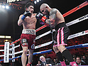 Boxing: WBO Super Welterweight title bout : Yoshihiro Kamegai vs Miguel Cott