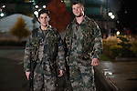 Matt (Josh Peck) and Jed (Chris Hemsworth) in Red Dawn...- Editorial Use Only -..Supplied by face to face