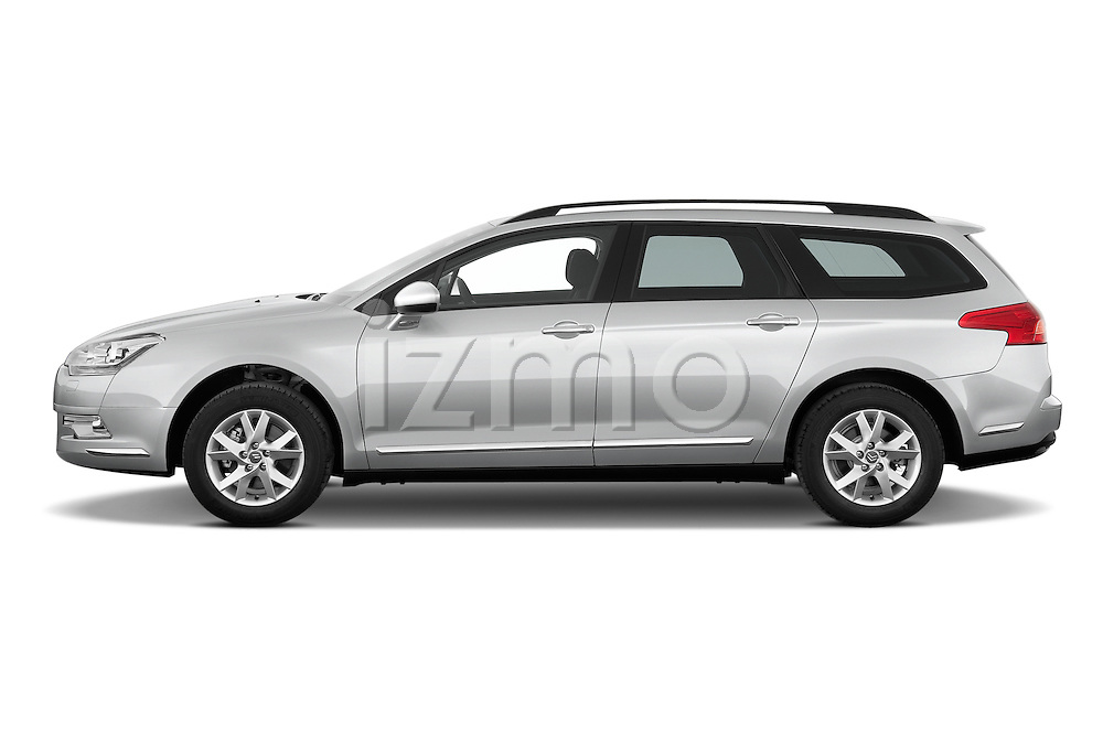Driver side profile view of a 2010 Citroen C5 Dynamique 5 Door Wagon 2WD