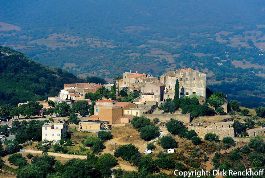 Pigna in der Balagne, Korsika, Frankreich